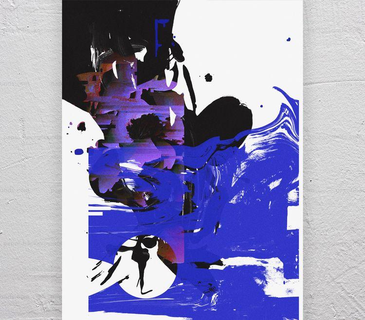 Visitations II - Mixing paintin - wilmermurillo | ello