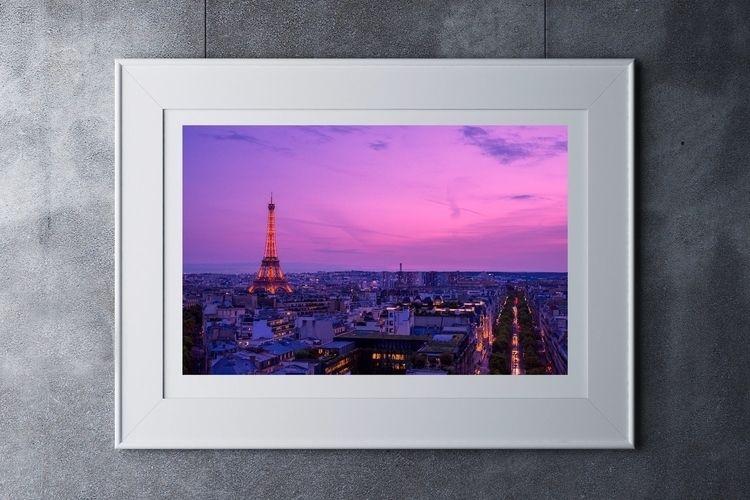 Paris top Arc de Triomphe. Eiff - adrianoink | ello