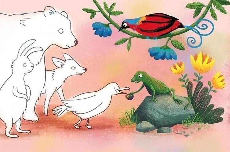 short story magazine toddlers - illustration - puikeprent   ello