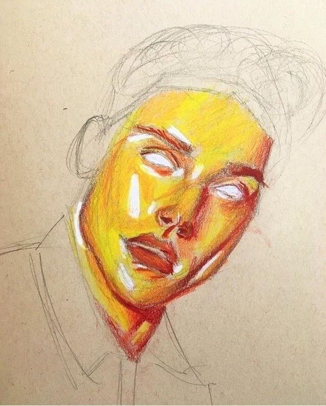 red orange yellow - art, artist - haunterartist | ello