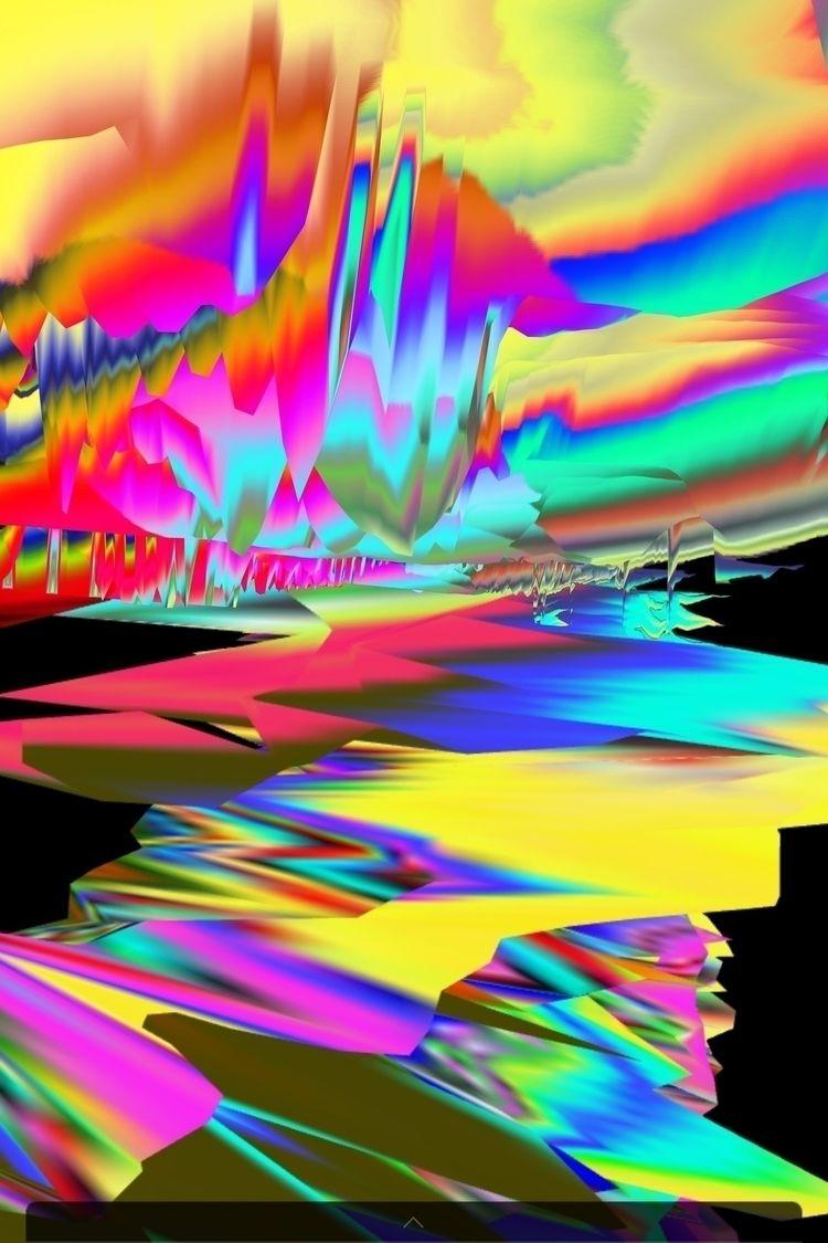 glitch, glitchart, abstract, vaporwave - user9627 | ello