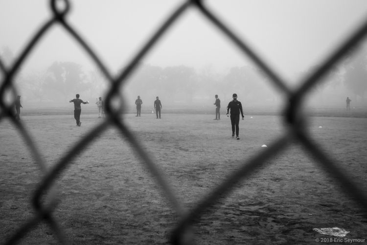 Cricket foggy morning - blackandwhite - ericseymourphotography | ello