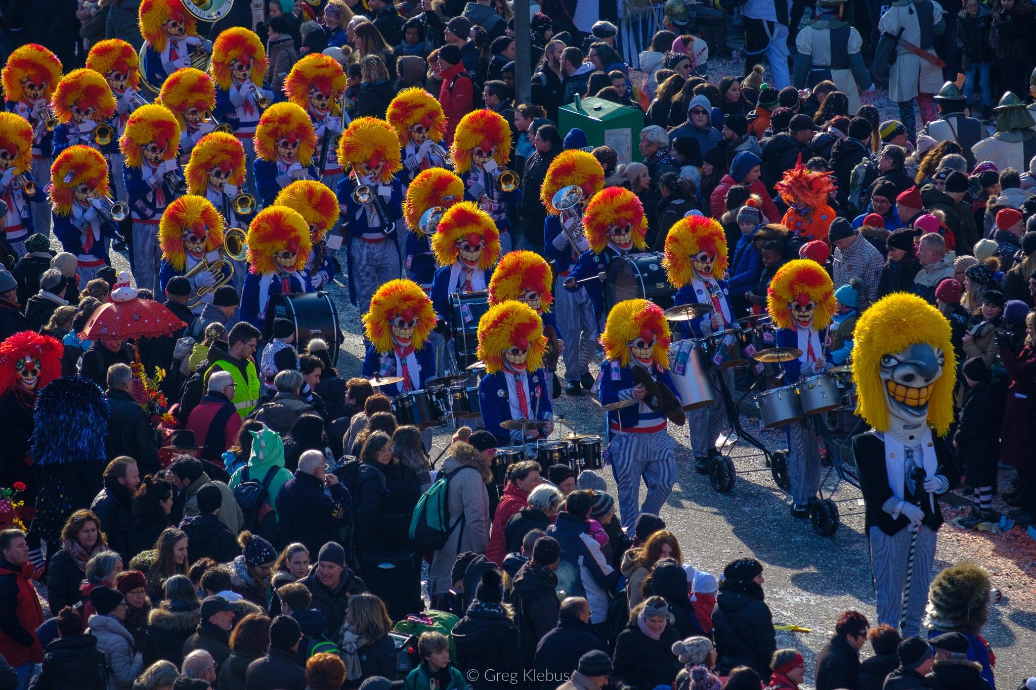 Basler Fasnacht (Carnival Basel - gklebus   ello
