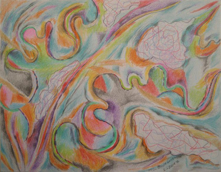 Leaf Drawing - 2017 Marie-Chris - mcbourguignon | ello