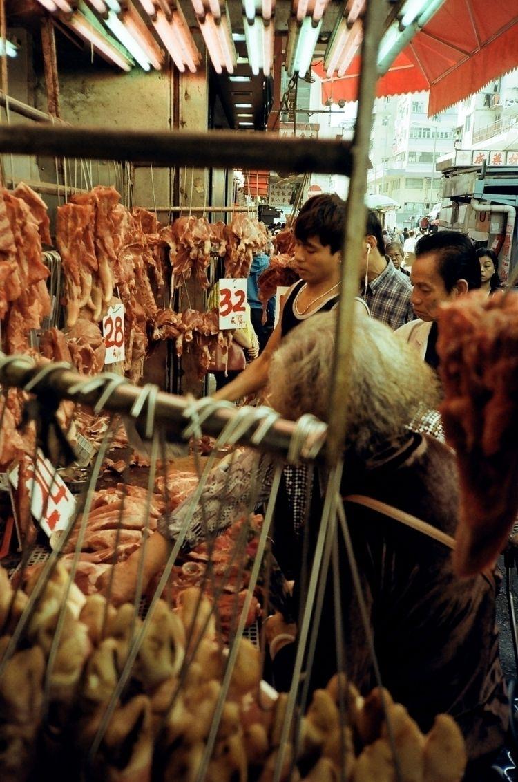 Street-side meat vendor Sham Sh - mazesc | ello