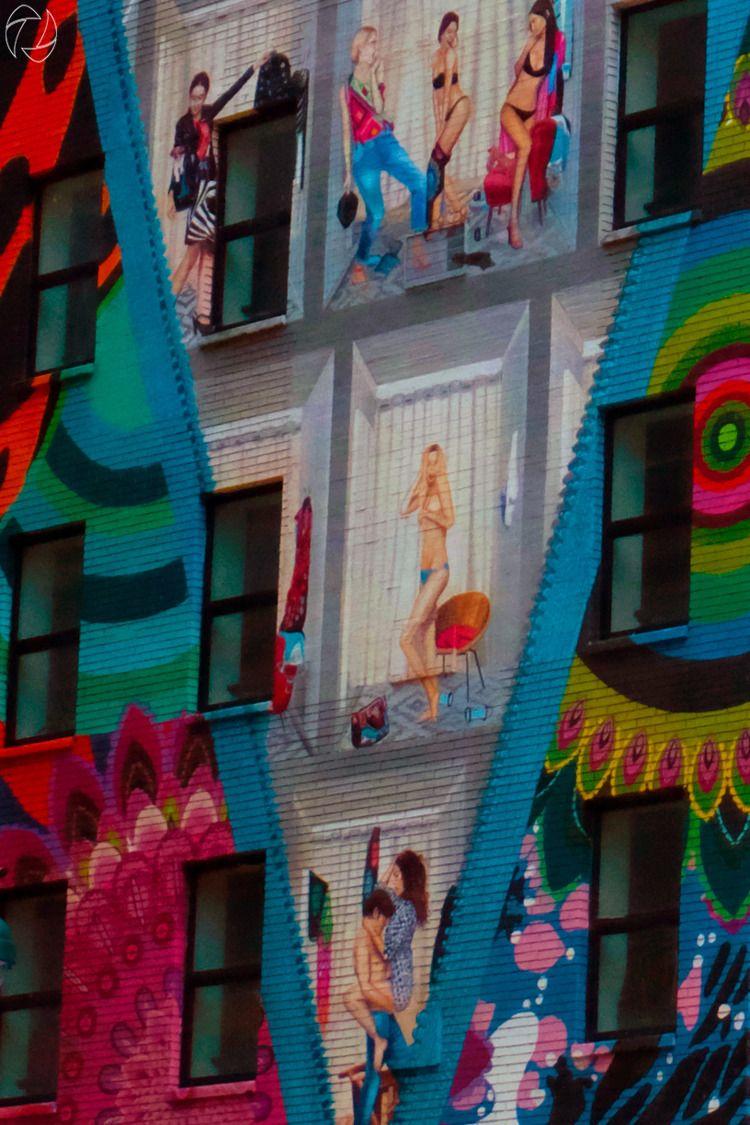 excellent Desigual store mural - jung_photo   ello