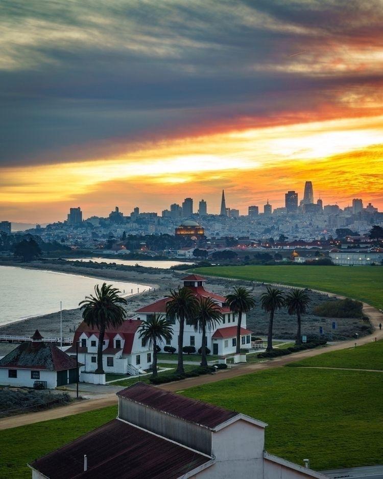 Sunrise City - sunrise, SanFrancisco - longlucphotos | ello