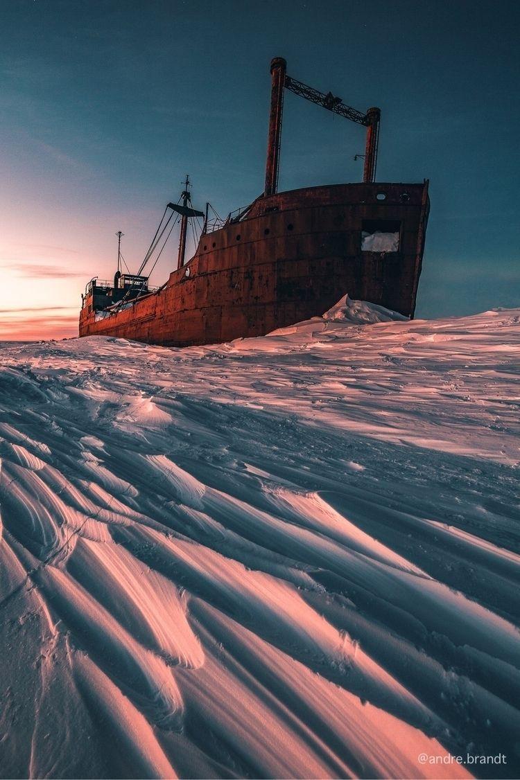 MV Ithaca • Churchill, Manitoba - andrebrandtphoto | ello
