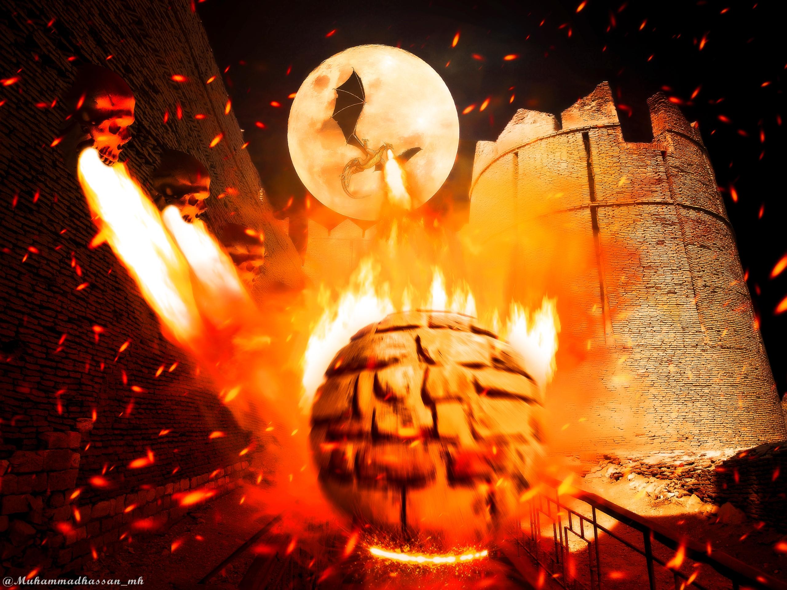 Titles: 1) Dragon ball fire 2)  - muhammadhassan_mh | ello