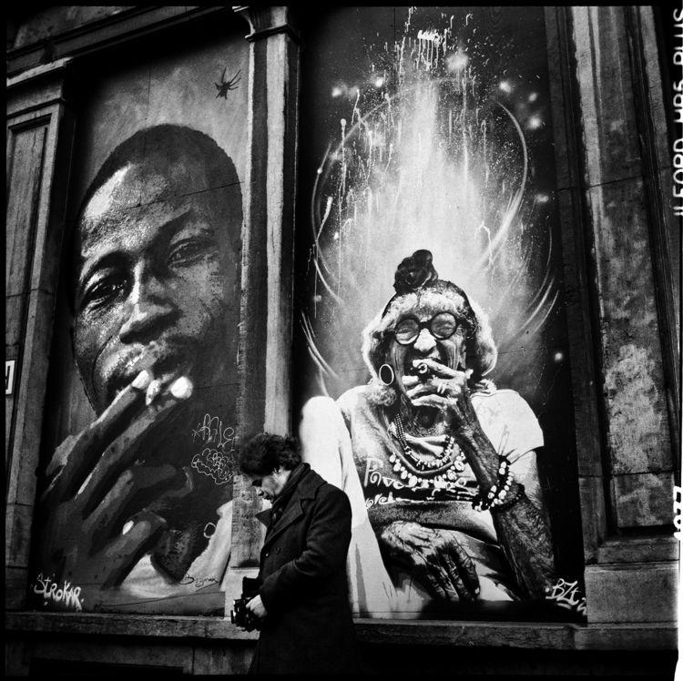 Hervé Baudat  - photography, blackandwhite - lorseau   ello