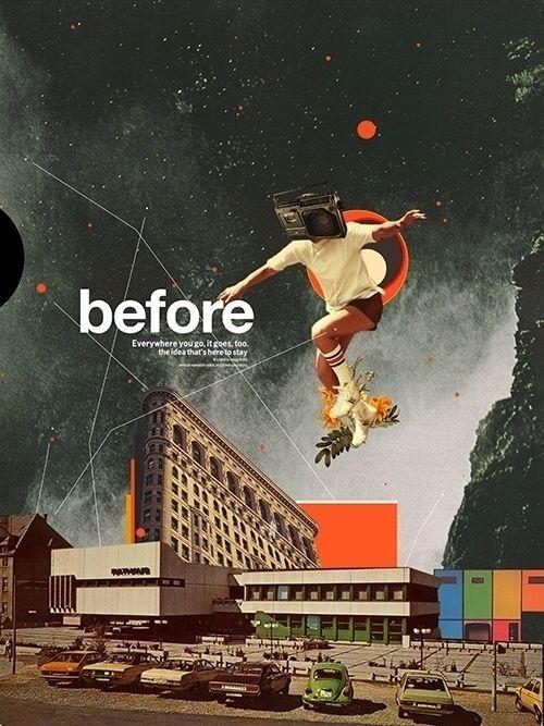 collage, vintage, frankmoth, retro - frankmoth | ello