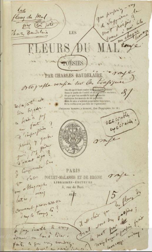 ARTIST: Charles Baudelaire 'Fle - johnhopper   ello