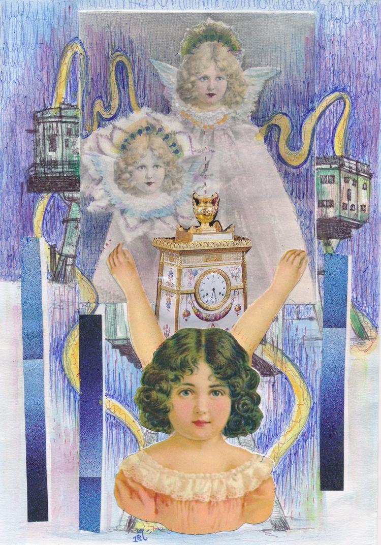 nice work Artist Call Gabriela  - papiergedanken-collage-art | ello
