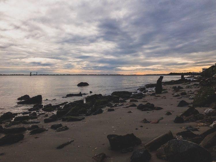 Sunset, OakIsland, NorthCarolina - underflow | ello
