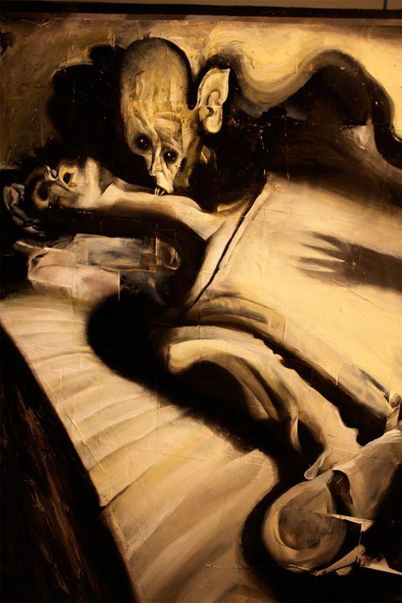 Sou Nosferatu... Ela dorme. Som - noirrumanesk | ello