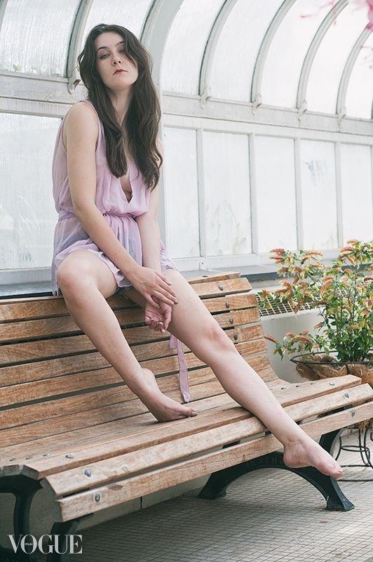 Erica Model Jay - Greenhouse - portrait - marcus_f   ello