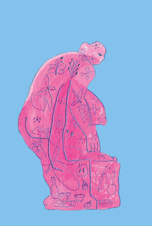Pink Statue 2018 - illustration - draw_spring | ello
