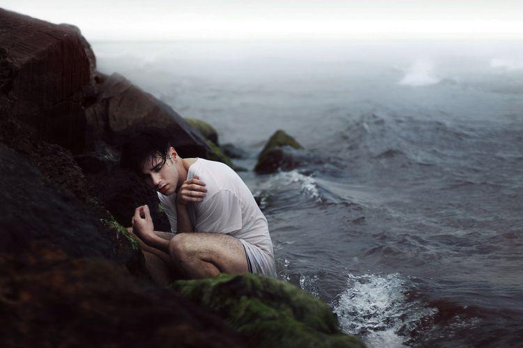 raging sea - selfportrait, sergioheads - sergioheads | ello