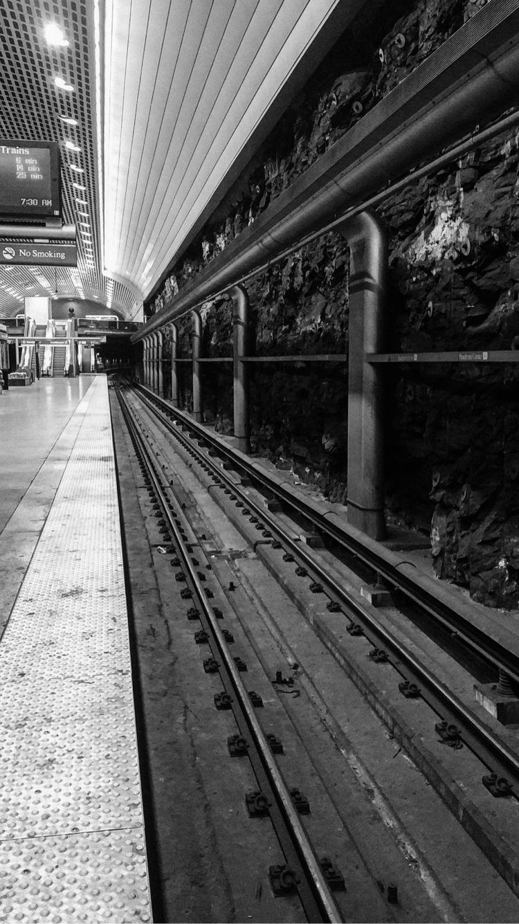 blackandwhite, atlanta, subway - underflow | ello