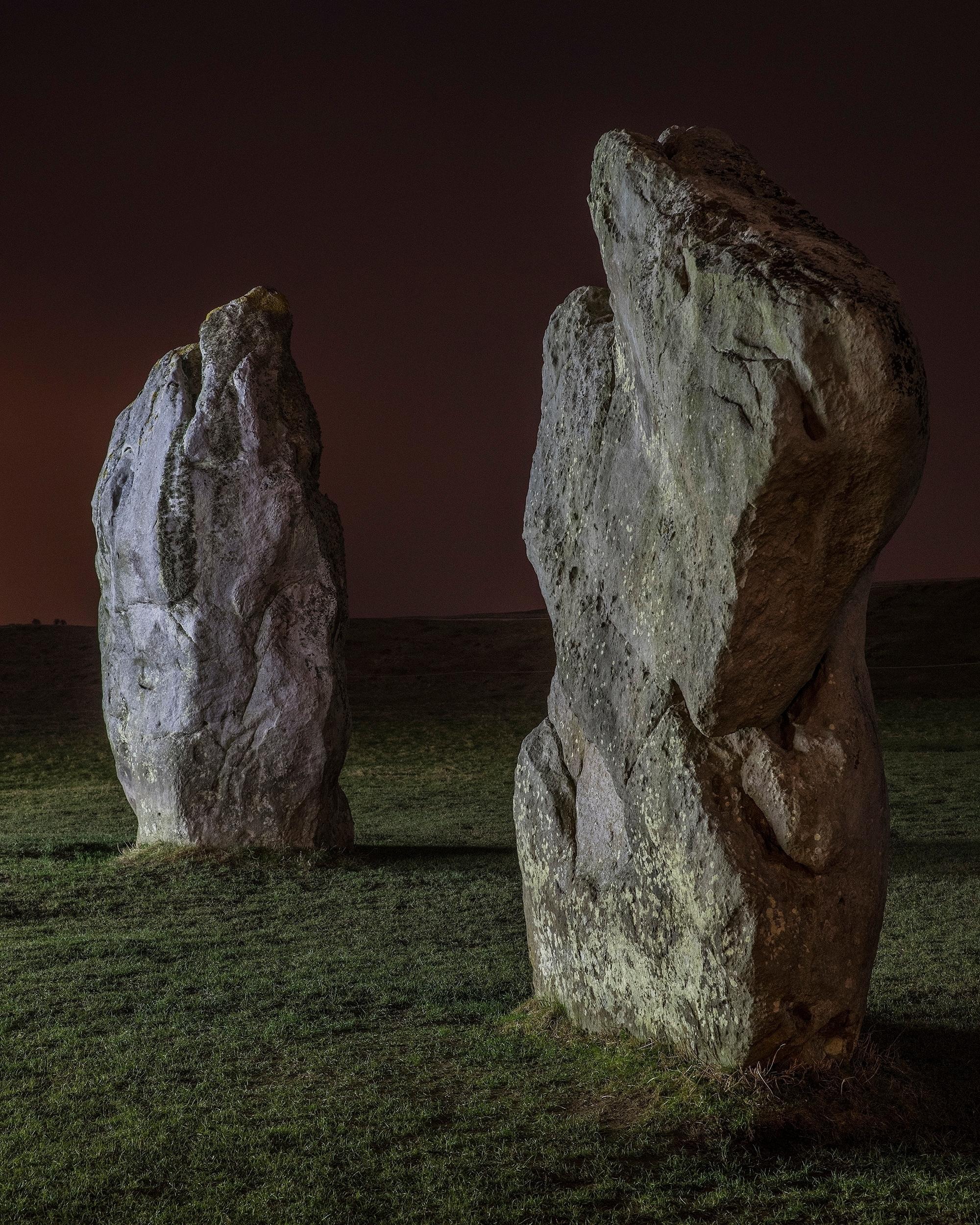 Avebury Stones late night light - forgottenheritage | ello
