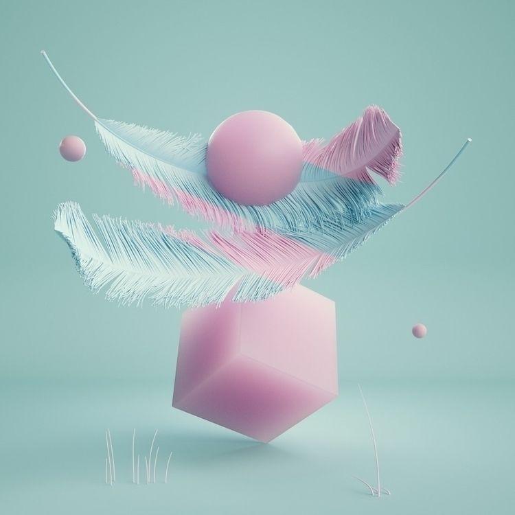 FeatherSSS - Cinema4D, 3D, Illustration - movki | ello