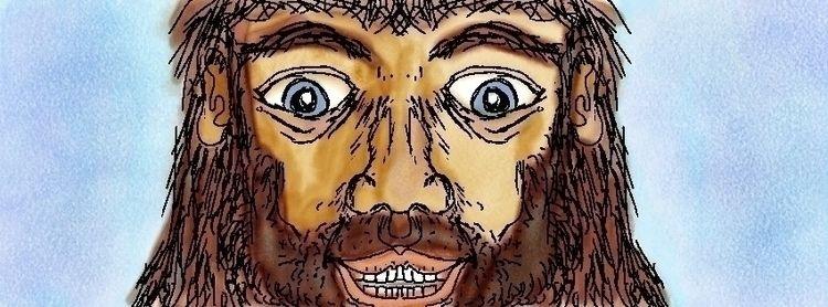 Jesus - digital, cartoon, illustration - magiccottagedrawings   ello