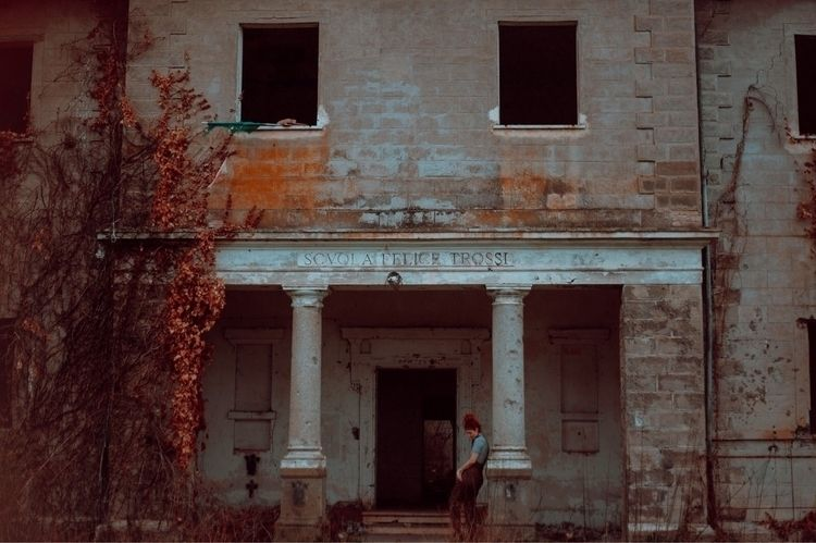 Abandoned school, Italy - abandonedplaces - chiara_lanciotti_ph | ello