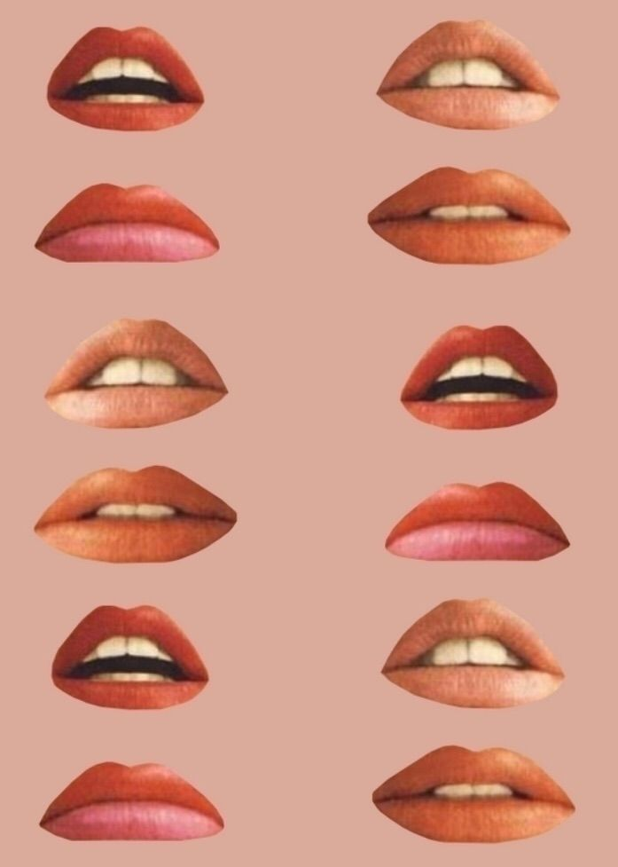 Lips - collage, collageart, illustration - saroskycollages | ello
