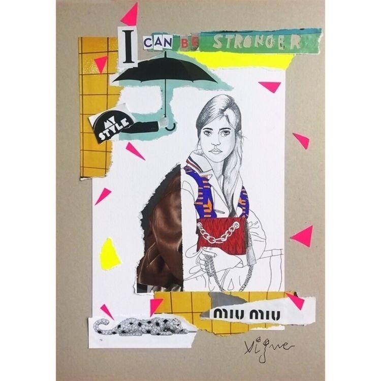 Fashion collage Rocio Vigne - art - rociovigne | ello