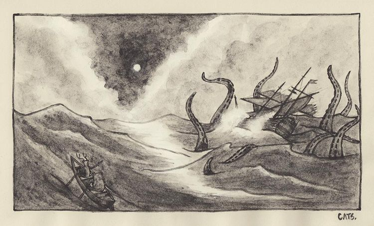 smooth sailing Sunday sketch |  - catsac | ello