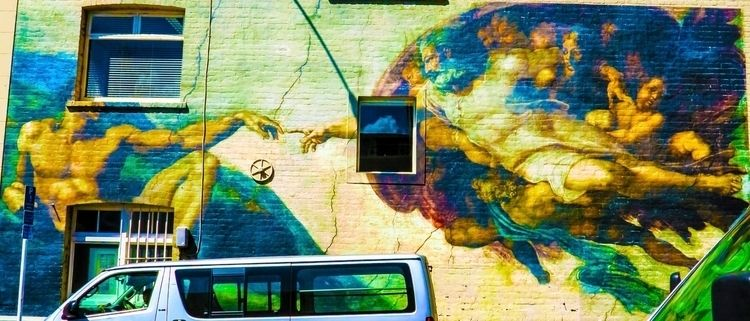 streetart, colourphotography - littlecurl | ello