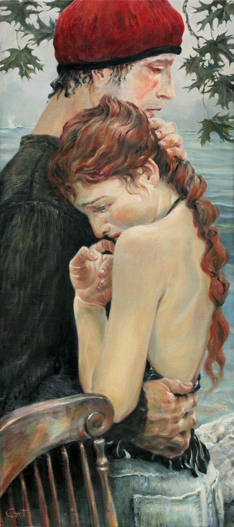 Tides, Christopher Cart, oil ca - chriscart | ello