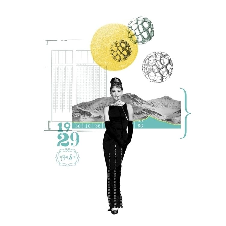 art print / audrey series icon  - atzeanalogue | ello