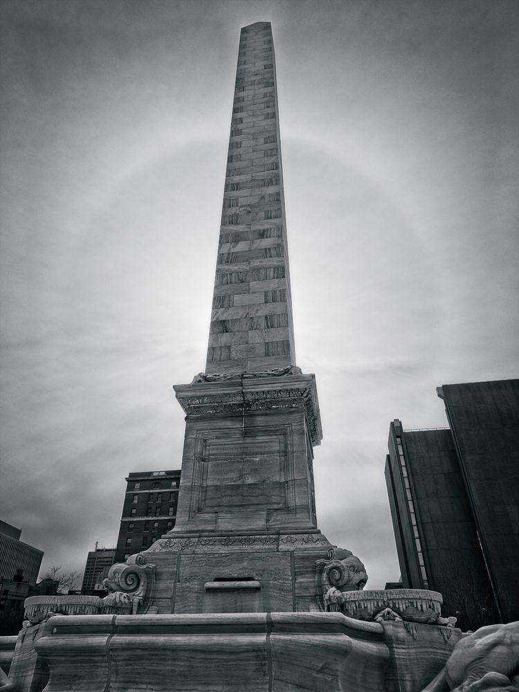 Obelisk son wandering city arch - neurodancer | ello