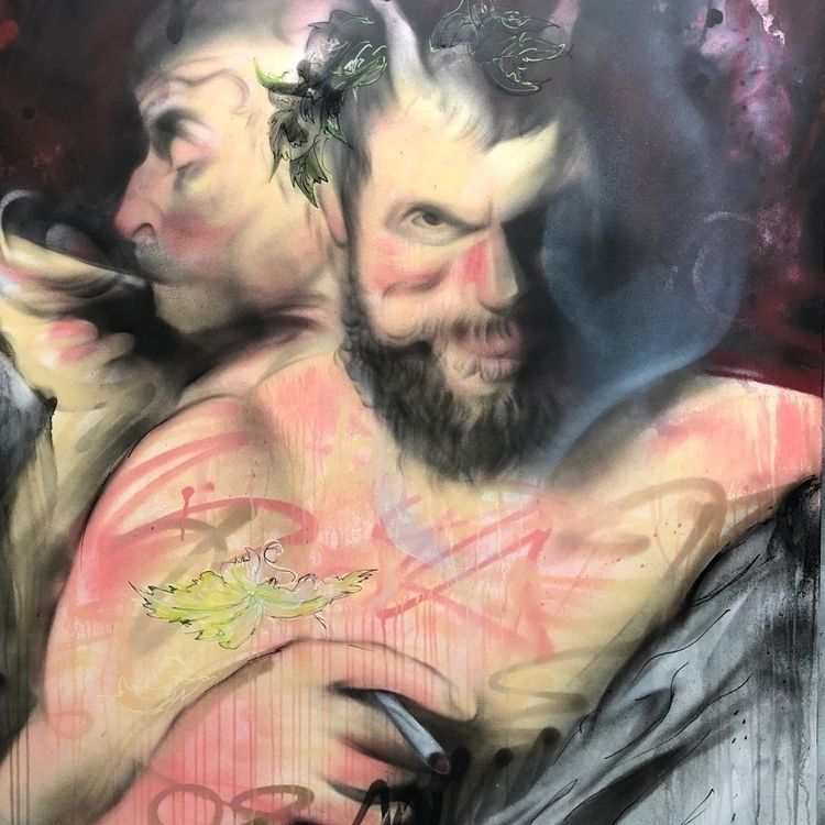 Dionysos - graffitiart, graffiti - volaneart   ello