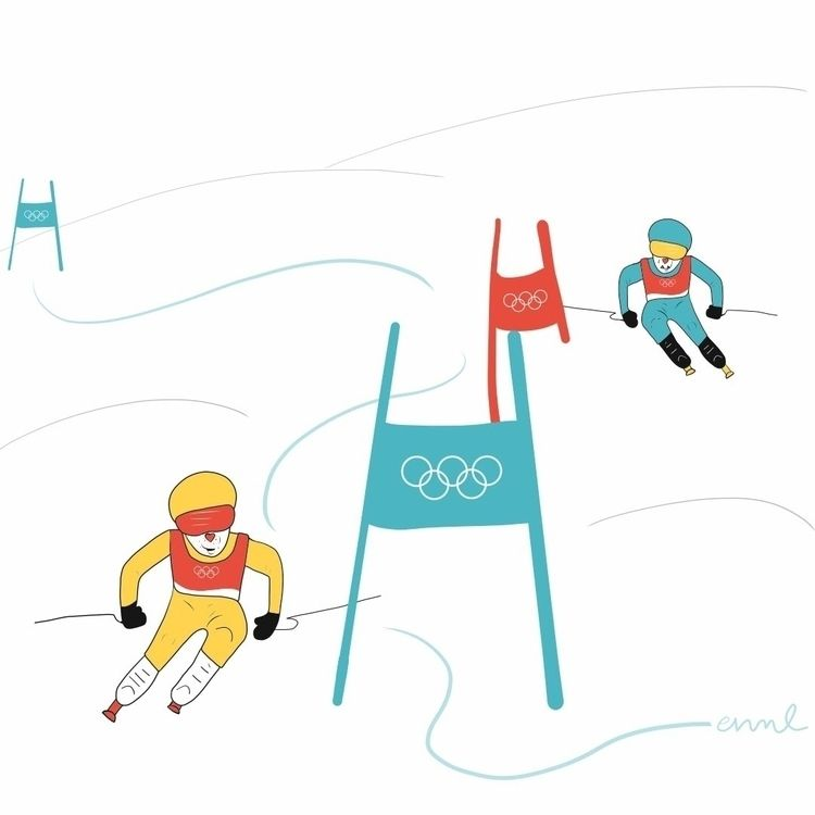 Cider Miso: Alpine Skiers (Part - emilynettie | ello
