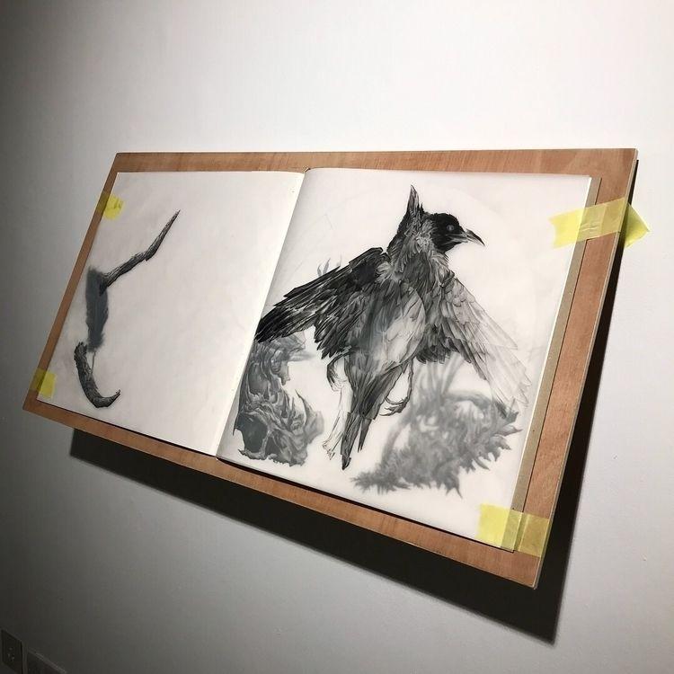 Book 5 (wip) prototype, wall mo - michaelhenleyart | ello