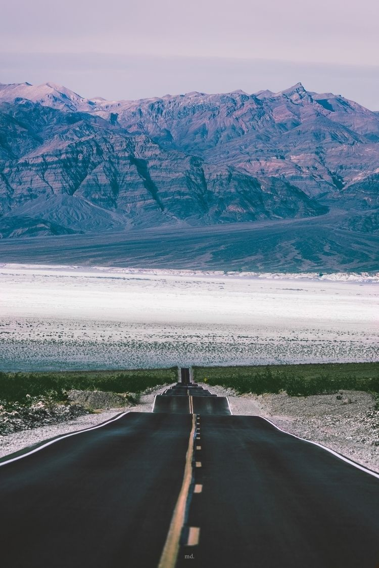 straight line Death Valley, CA  - fraudfix | ello