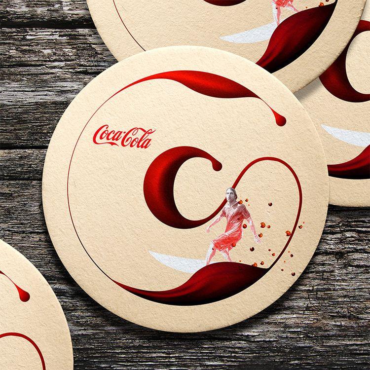 Coca-Cola coaster (Unofficial d - game4d | ello