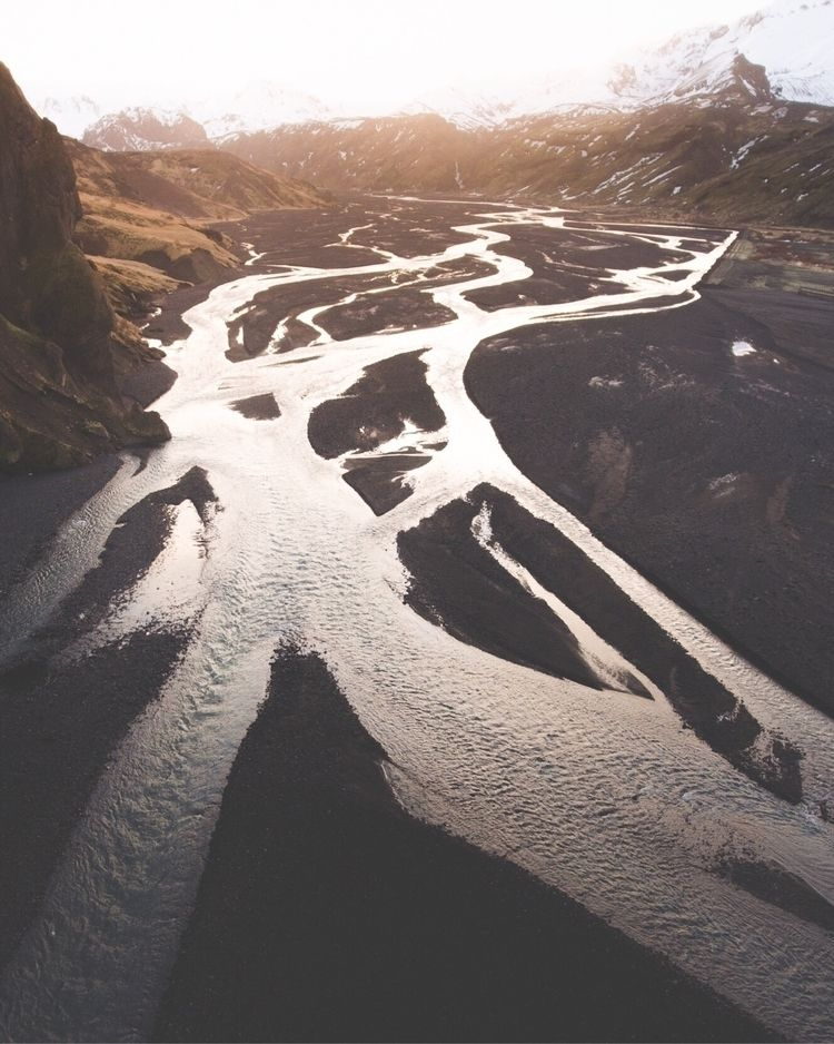 Great rivers, coming pore Icela - joe_shutter | ello