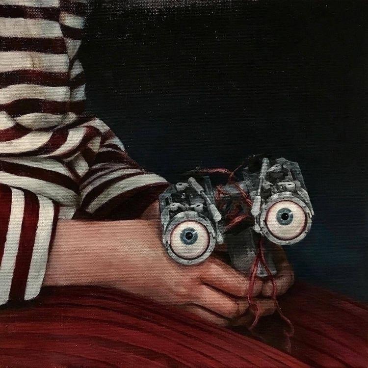 hands beholder» 2017 - painting - bryhn | ello