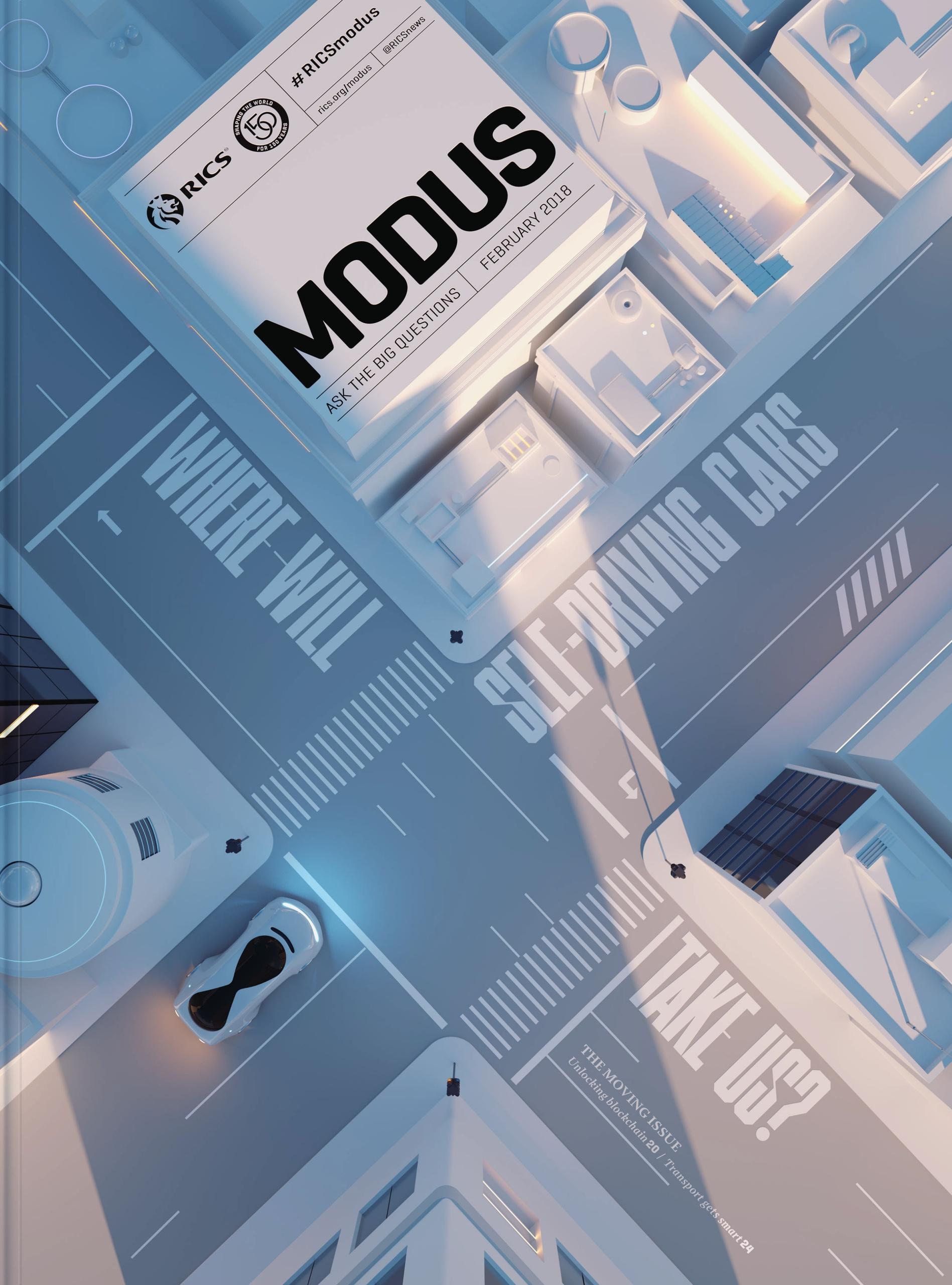 Cover image edition Modus RICS - sawdust   ello