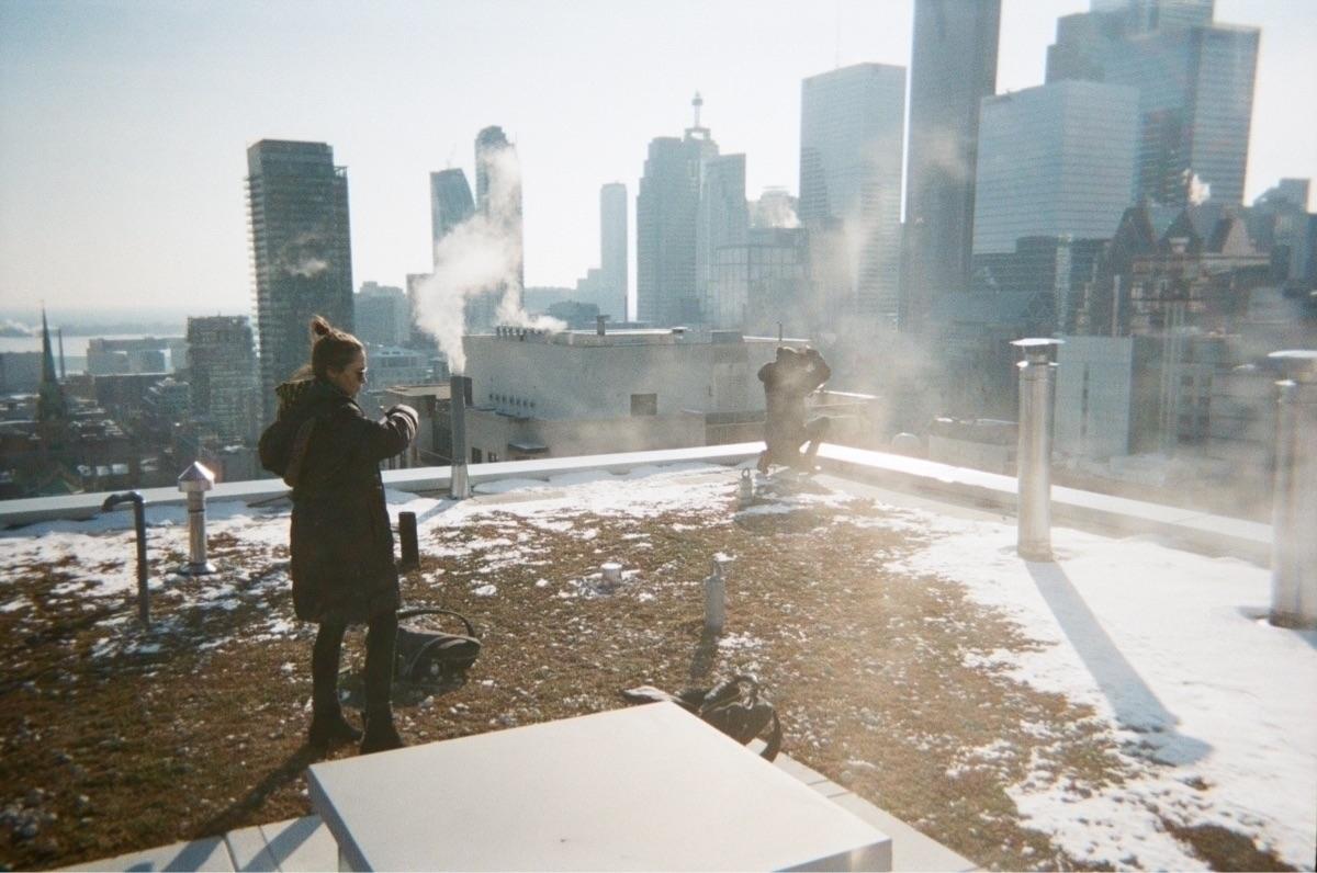 35mm, film, roof, rooftop, urbex - jeremygilberg | ello