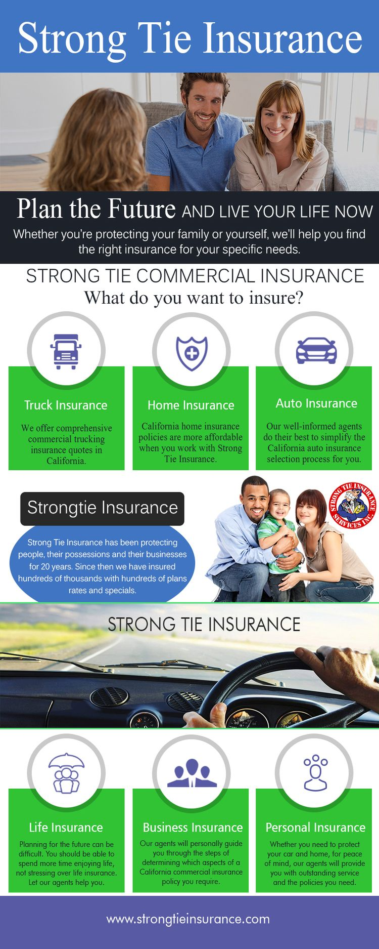 Strong Tie Commercial Truck Ins - strongtiecommercialtruckinginsurance | ello