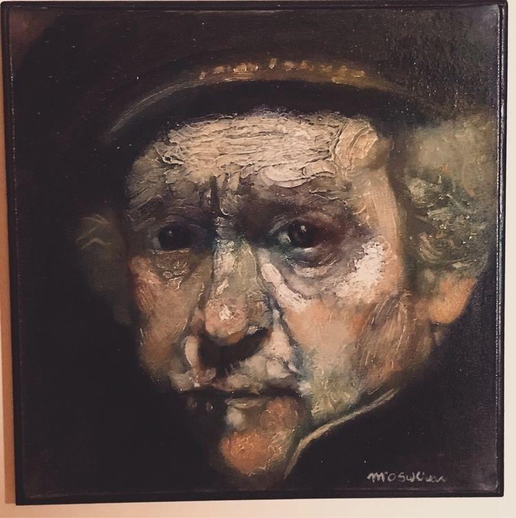 Rembrandt copy. Oil canvas. hap - mikesull | ello