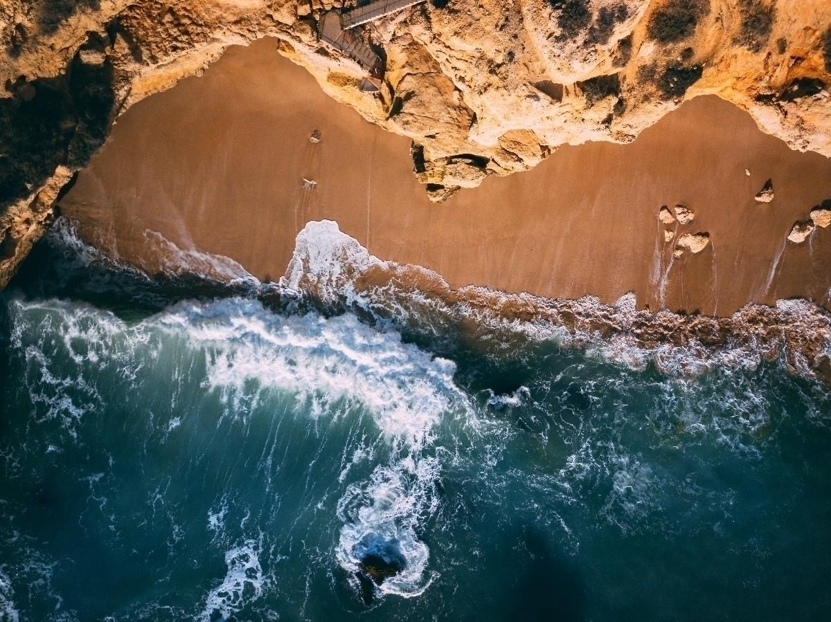 Portugal coastline - drone, mavicpro - brandtlovell | ello