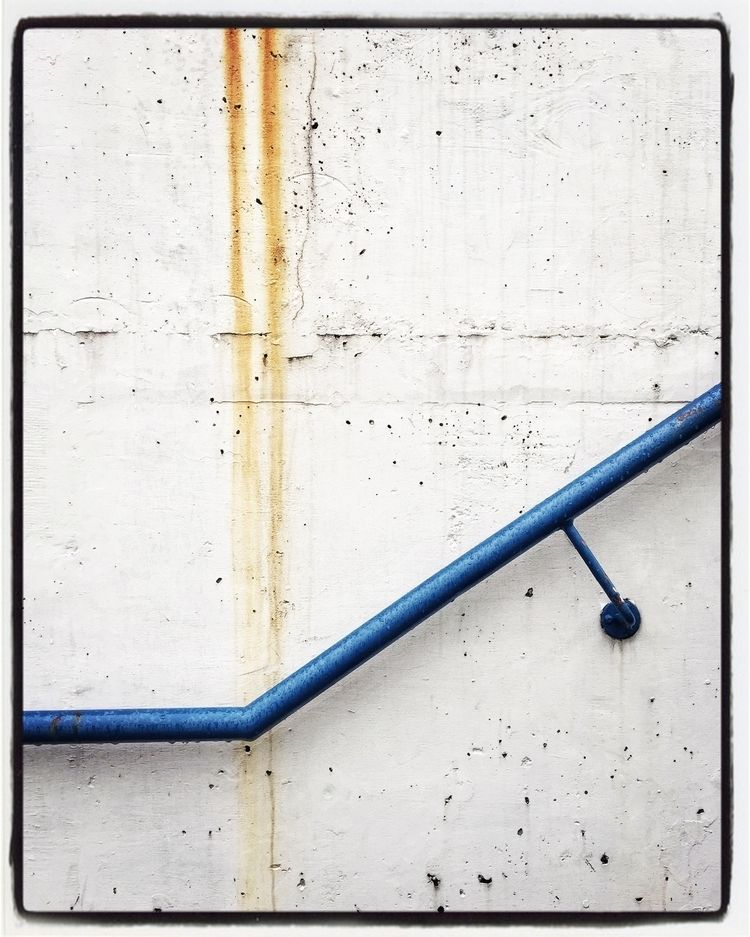 stain - abstract, street, held, handrail - russell2 | ello