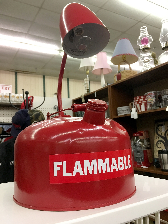 1203. gas powered lamp St Clair - moosedixon   ello