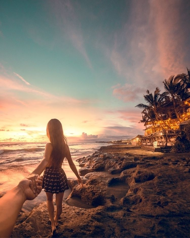 Bali sunsets. edit, combined po - hansoncheng | ello