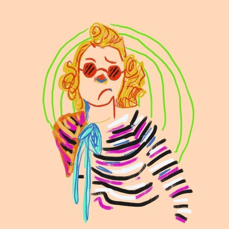 Días de aburrimiento - drawing, draw - oscar_donado   ello